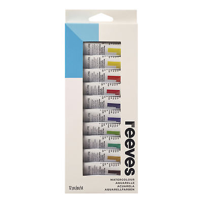 8493263 Reeves 10Ml Watercolor Paint 12-Color Set