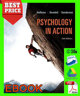 psychology in action 12th Edition/ by Karen Huffman🔥PDF🔥(30s).