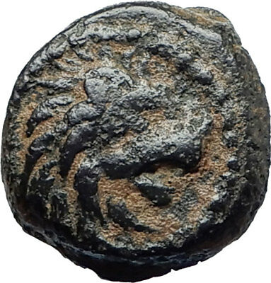 ANTIOCHOS VII Sidetes 138BC Seleukid Ancient Greek Coin NEMEAN LION CLUB i75525