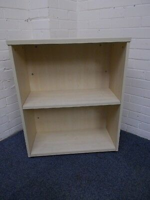 Light Beech/Maple 2 Shelf Bookcase