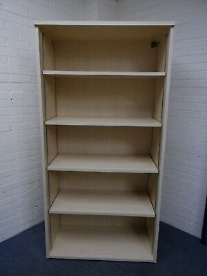 Sven Christiansen Light Beech/Maple Effect Large Bookcase