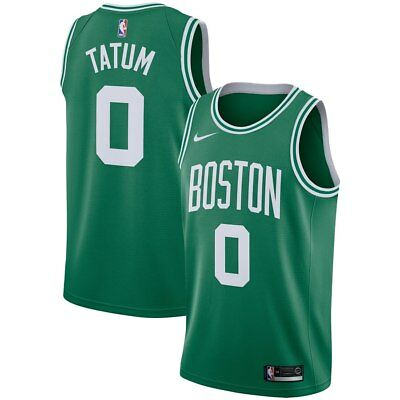 Boston Celtics - Jayson Tatum  0 Nike Men s Green Swingman Jersey - Icon  Edition a9df36497