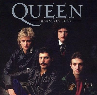 Greatest Hits by Queen (CD, Aug-2004, Hollywood) *New, Still Sealed, Damaged*