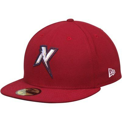 Northwest Arkansas Naturals New Era Authentic Road 59FIFTY Fitted Hat -  Cardinal 1c92b202e2ab