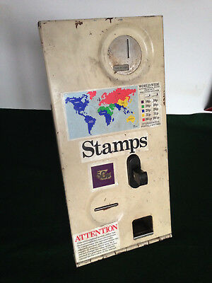 Postage Stamp Dispenser , Vending Machine Coin Operated, 1980's