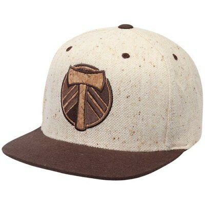 648eb221d4d Portland Timbers Mitchell   Ness The Natural Snapback Adjustable Hat -  Natural