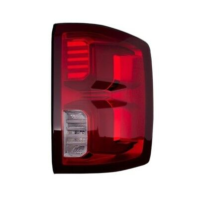 SMOKED 14-18 SILVERADO LED Neon Tube Replacement Tail Lights