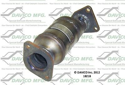 Davico Catalytic Converter Front Driver Left Side New LH Hand 18218