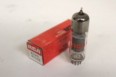 RCA - 6BM8 / ECL82 New Old Stock - made in USA - tested on B&K 747 - Knight Kit