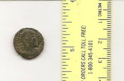 CONSTANTIUS II AE3 3 victories/palm leaf. Son of Constantine I. Good detail