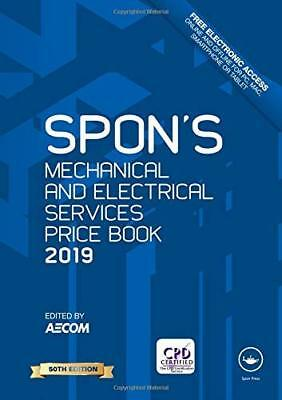 Spon's Mechanical and Electrical Services Price Book: 2019 DIGITAL FORMAT
