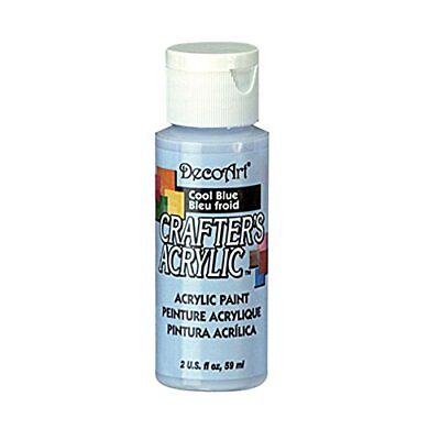 Deco Art Dca76 Crafters Acrylic Cool Blue 2Oz