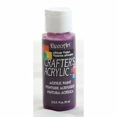 Deco Art Dca74 Crafters Acrylic African Violet 2Oz