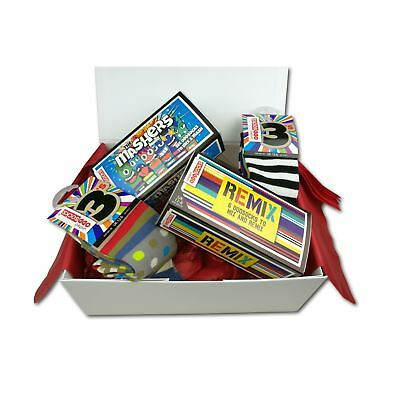 United Oddsocks Boys Mismatched Socks UK 12-6 Large Decorative Gift Box Hamper
