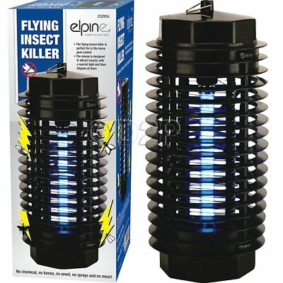 New Electronic Flying Insects Killers Fly Bug Zapper Uv Attract Easy Clean Pest