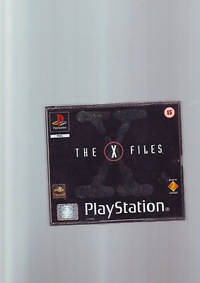 The X-Files - Playstation Ps1 Game / Ps2 Ps3  - Original & Complete Fat Case Vgc