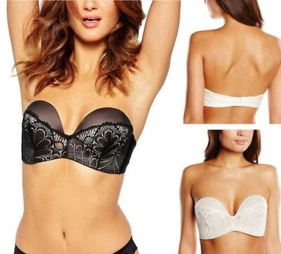 Wonderbra Ultime sans Bretelle Raffiné Glamour Soutien-Gorge W031U Magic  Hands c489e476333
