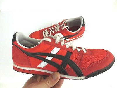 a38ab16893c4 ASICS Onitsuka Tiger Ultimate 81 Shoe Fiery Red Black D54HQ Men s Size 9.5