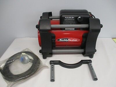 Reddy Heater Propane Forced Air Heater 30-55,000 Btu ~ Hardly Used!