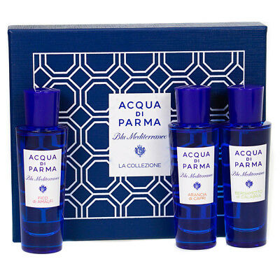 Acqua Di Parma Blu Mediterraneo 3 x 30ml Eau De Toilette Collection