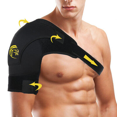 Shoulder Brace Rotator Cuff Pain Back Support Adjustable Belt Dislocated Strap
