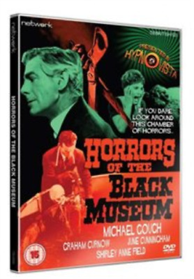 Gerald Anderson, John Warwick-Horrors of the Black Museum DVD NEW
