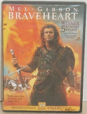 Braveheart DVD Widescreen Collection Mel Gibson