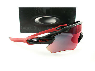 Oakley Radar EV Path Sunglasses Polished Black Positive Red Iridium OO9208- 21 0124ed105e83