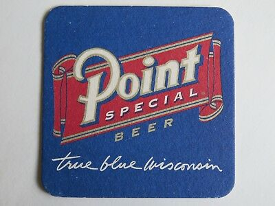 Beer Bar Coaster ~ Stevens Point Brewing Co Special Brew ~ WISCONSIN Since 1857