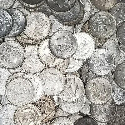 1878-1904 Morgan Silver Dollars XF-AU Pre-1921 Mix Dates Lot of 5 Coins