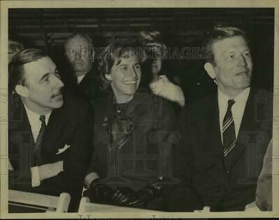 1967 Press Photo Mayor and Mrs John V Lindsay, New York City, in Albany, NY