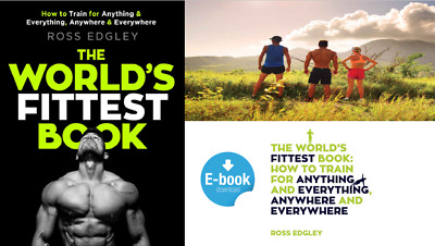 The World's Fittest Book, How To Train, Ross Edgley - READ FULL DESCRIPTION