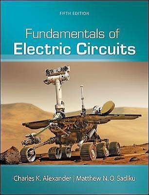 Fundamentals of Electric Circuits 5th Edition {PDF} **SAME DAY DELIVERY**