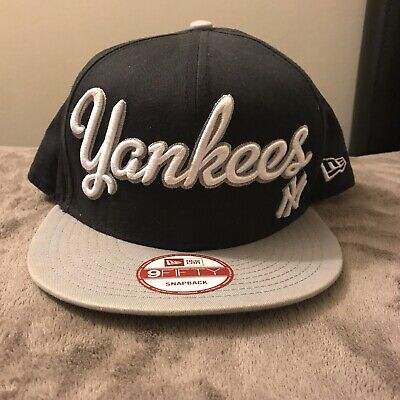 79f2fd5d NEW ERA NEW York Yankees Snapback Hat Cap Navy Blue White 9Fifty Logo