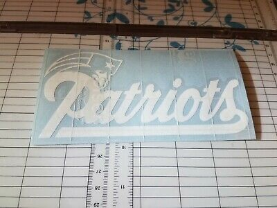 NEW ENGLAND PATRIOTS Decal 🏈 Car Window Vinyl Wall Cornhole STICKER - Customize