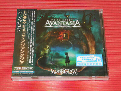 2019 TOBIAS SAMMET'S AVANTASIA MOONGLOW with Bonus Track  JAPAN CD