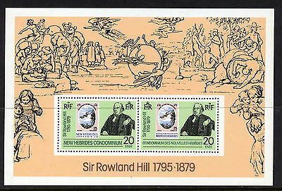 New Hebrides 266a MNH Stamp on Stamp, Rowland Hill