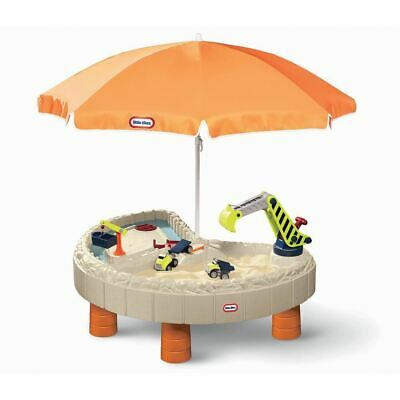 Little Tikes Builder Bay Sand & Water Table Toy Up To 2 Gallons of Water