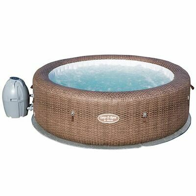 Bestway Lay Z Spa St. Moritz AirJet Inflatable Portable Outdoor Hot Tub Spa