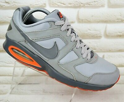 NIKE AIR MAX CHASE Mens Grey Leather Trainers Shoes Sneakers Size 9 UK 44 EU 02925c2f0