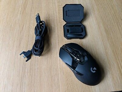 72357763a11 LOGITECH G900 Chaos Spectrum Gaming Mouse, Ambidextrous and mouse bungee