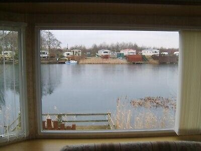 Willerby Granada Static Caravan - Sited Lakeside with a view from the lounge