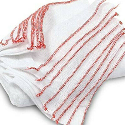 15 x LARGE DOUBLE LAYERED COTTON SOFT JUMBO CLEANING DISH CLOTHS WIPES TOWELS