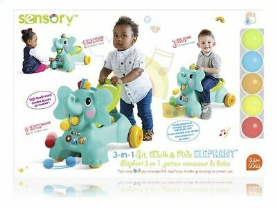 3 in 1 Sit, Walk & Ride Elephant