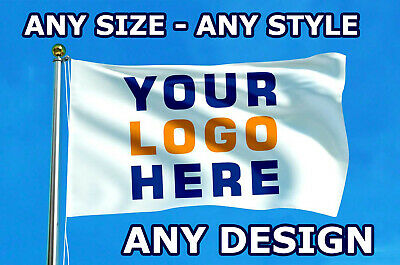 Custom Printed Personalised Flag / Banner | Any Size | Any Design | Football