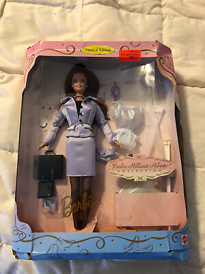 1997 Mattel Millicent Roberts Collection Perfectly Suited Business Woman Barbie