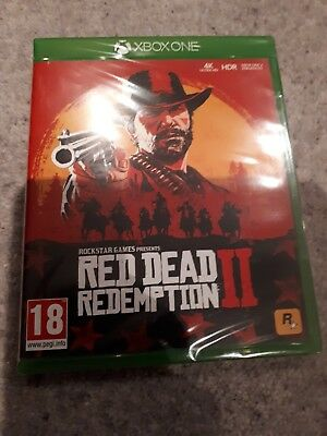 XBOX ONE  game RED DEAD REDEMPTION 2 New and sealed