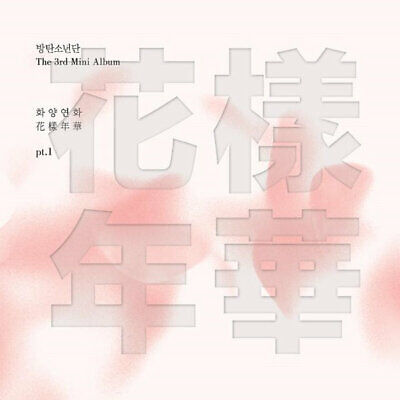 [BTS] IN THE MOOD FOR LOVE PT.1 3rd Mini Album PINK Version CD+Book+Card SEALED
