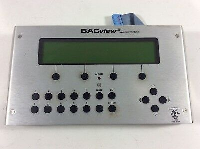 BACview2 BY AUTOMATED LOGIC Hvac Control Module DISPLAY HIM (WARRANTY)-DG