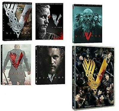 Vikings Season/Series 1-5 (5 Part/Vol 1) DVD Box Set Complete Collection New